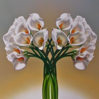 Adagio in White by Leon Belsky