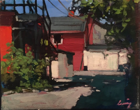 Back Alley by Philip Craig