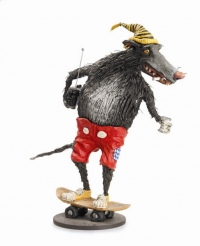 Skate Rat by Patrick Amiot