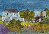 Study for View from Above, Digby, Nova Scotia by Barry McCarthy
