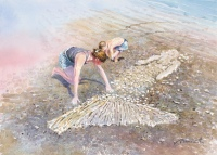 Sand Mermaid, study by Barry McCarthy