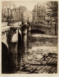 Pont Neuf, Paris by Caroline Helena Armington