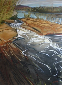 Rocky River Vertical by Shannon  Craig Morphew