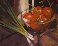Bowl of Red Tomatoes by Philip Craig