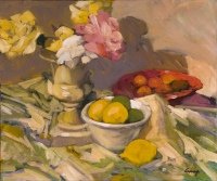 Still Life with Three Lemons by Philip Craig