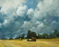 Hay Before the Storm by Philip Craig