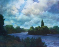 River Thames Near Richmond by Philip Craig