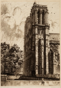 Notre-Dame-de-Paris by Frank Milton Armington