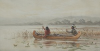 Ojibway Indians, Lake of the Woods by Frederick A. Verner