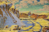 Untitled (The Gravel Quarry, Lumsden) by Illingworth (Buck) Kerr