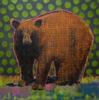 Animal Painting #020-1809 by Les Thomas