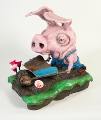 Farmer Pig by Patrick Amiot