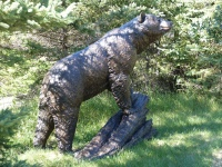 Monumental Black Bear by Peter Sawatzky
