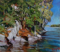 Centre Island study by Philip Craig