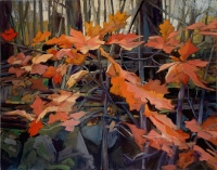 Red Leaves by Philip Craig