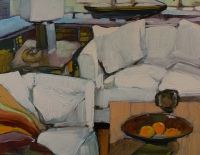 White Living Room by Philip Craig