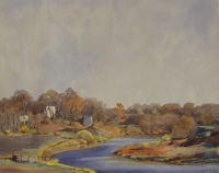 Autumn, La Salle River, St. Norbert by Walter Joseph (W.J.) Phillips