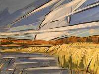 Water Reeds by Shannon  Craig Morphew