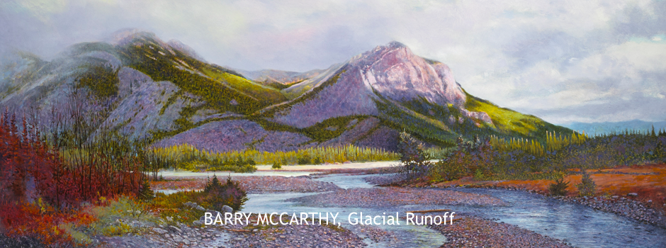 Glacial Runoff, 2018, by Barry McCarthy