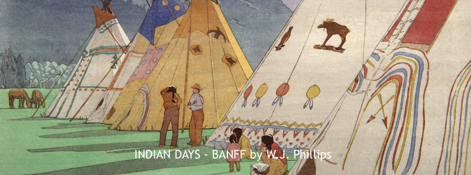 INDIAN DAYS - BANFF, by W.J. Phillips