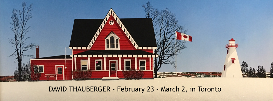 David Thauberger, February 23 - March 2, in Toronto